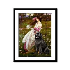 Windflowers / Newfoundland Framed Panel Print
