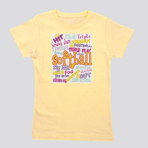 Softball Girl's Tee