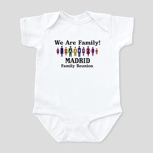 MADRID reunion (we are family Infant Bodysuit