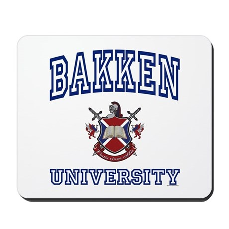 BAKKEN University Mousepad