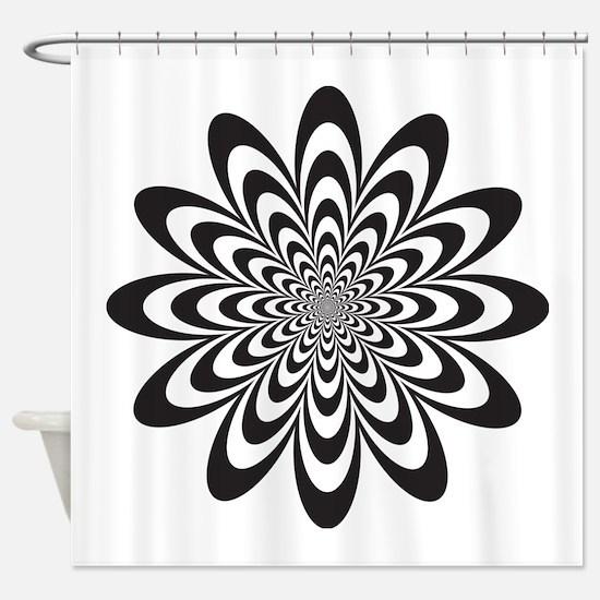 Cute Illusion Shower Curtain