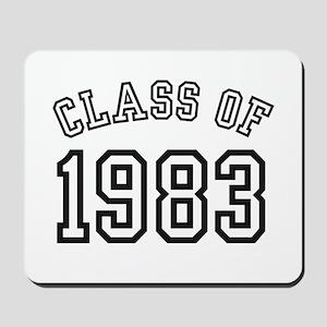 Class of 1983 Mousepad