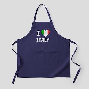 I Heart Italy Apron (dark)