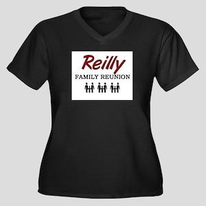 Reilly Family Reunion Women's Plus Size V-Neck Dar