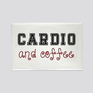 Cardio and Coffee Magnets