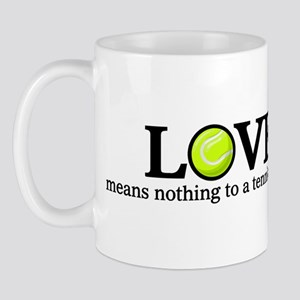 Love means nothing Mug