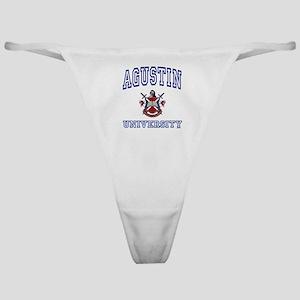 AGUSTIN University Classic Thong