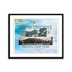 North Cascades Framed Panel Print
