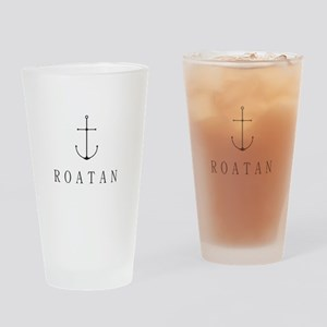 Roatan Honduras Sailing Anchor Drinking Glass