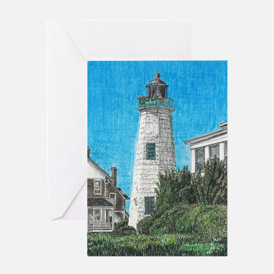 Old Point Comfort Lighthouse Greeting Cards