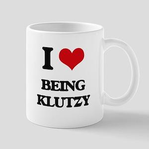 I Love Being Klutzy Mugs