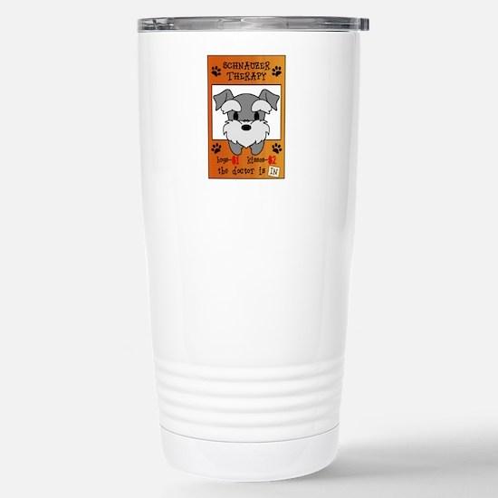 Schnauzer Therapy Travel Mug