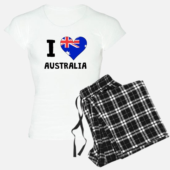 I Heart Australia Pajamas