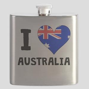 I Heart Australia Flask
