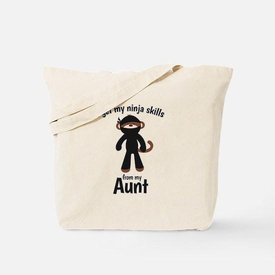 Monkey Ninja - Get Skills from my Aunt Tote Bag