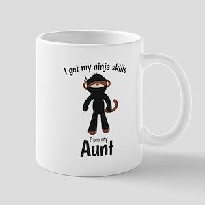 Monkey Ninja - Get Skills from my Aunt Mugs