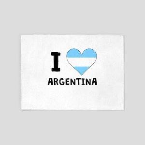 I Heart Argentina 5'x7'Area Rug