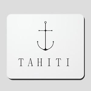 Tahiti Sailing Anchor Mousepad