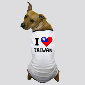 I Heart Taiwan Dog T-Shirt