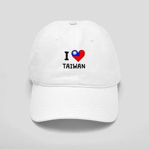 I Heart Taiwan Baseball Cap