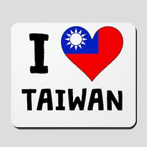I Heart Taiwan Mousepad
