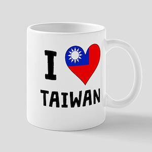I Heart Taiwan Mugs