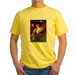 Angel & Newfoundland Yellow T-Shirt