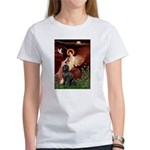 Angel & Newfoundland Women's T-Shirt