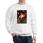 Angel & Newfoundland Sweatshirt