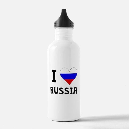 I Heart Russia Water Bottle