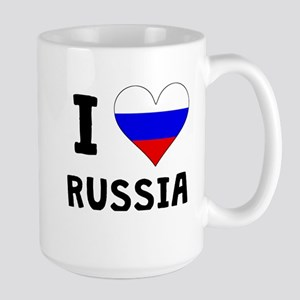 I Heart Russia Mugs