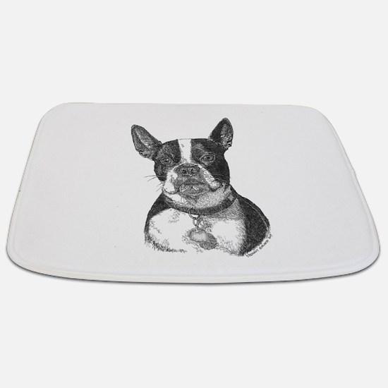 Boston Terrier Bathmat