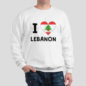 I Heart Lebanon Sweatshirt