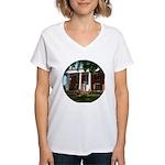 Kappa Alpha Theta Women's V-Neck T-Shirt