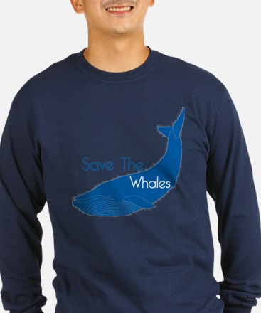 Save The Whales Blue Whale cause T