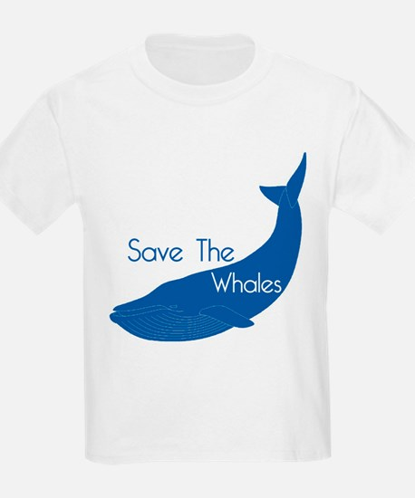 Save The Whales Blue Whale cause T-Shirt