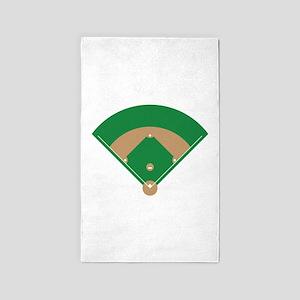 Baseball Field Area Rug
