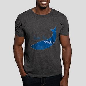 Save The Whales Blue Whale cause Dark T-Shirt
