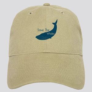 Save The Whales Blue Whale cause Cap
