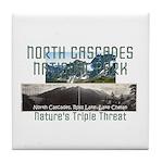 North Cascades Tile Coaster