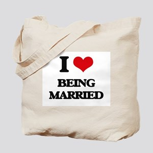 I Love Being Married Tote Bag