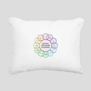 Autism Rectangular Canvas Pillow