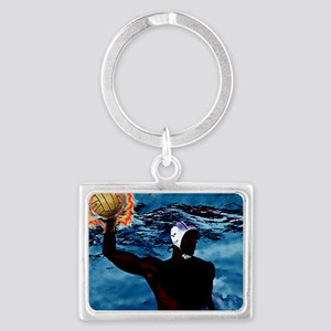 Waterpolo Man Keychains