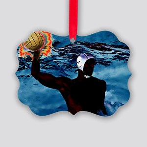 Waterpolo Man Ornament