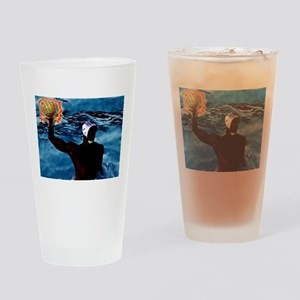 Waterpolo Man Drinking Glass