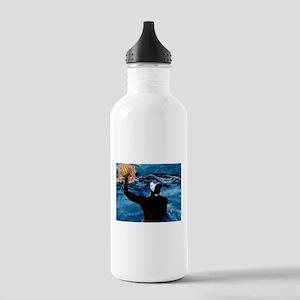 Waterpolo Man Water Bottle