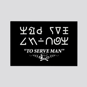 To Serve Man Cookbook Twilight Zone Magnets
