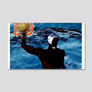 waterpolo man 2 Wall Decal