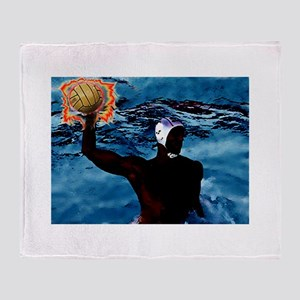 waterpolo man 2 Throw Blanket