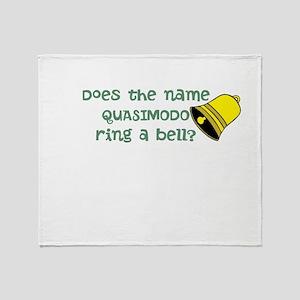 Quisimodo Throw Blanket